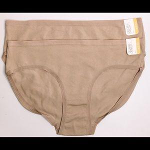 NEW 2 Pack Gilligan & O'malley Bikinis Super Soft